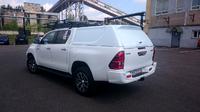 Крышка (кунг) кузова для Toyota Hilux 2015+ (двойная кабина) белая