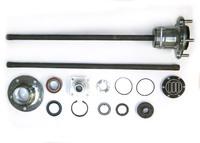 Комплект разгруженных полуосей НИВА (22 шлица/750 мм) без ABS
