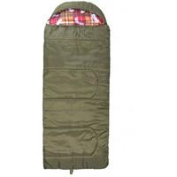 Спальный мешок БАТЫР XXL СОШ-3 (220*90) зелёный (холлофайбер) Helios