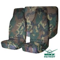Комплект грязезащитных чехлов на передние и задние (раздельные) сиденья УАЗ ПАТРИОТ