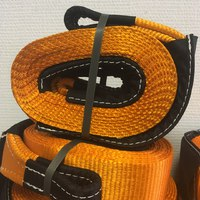 Стропа динамическая Off-wheels  9т. 6м. оранжевая