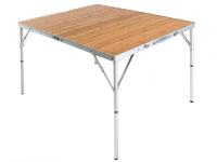 Стол кемпинговый Maverick Bamboo с бамбуковой столешницей 120,0 Х 90,0 Х 68,0 см.