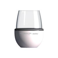 Термобокал для вина WINE KUZIE 440 мл, белый