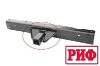 Комплект квадртата с усилителями для фаркопа переднего РИФ на Isuzu D-MAX (некраш.)