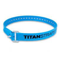 Ремень крепёжный TitanStraps Industrial голубой L = 76 см (Dmax = 22,6 см, Dmin = 5,5 см)