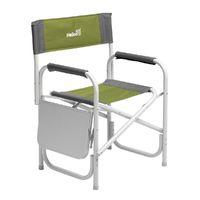 Кресло директорское HELIOS MAXI с откидным столиком (серый/зеленый)