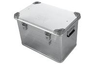 Ящик алюминиевый РИФ усиленный с замком 592х388х409 мм (ДхШхВ)