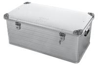 Ящик алюминиевый РИФ усиленный с замком 902х495х379 мм (ДхШхВ)