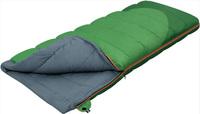 Мешок спальный ALEXIKA SIBERIA (одеяло) зеленый, правый