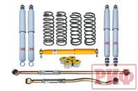 Лифт-комплект РИФ Gas для Toyota Land Cruiser 80/105 лифт 50 мм жесткий (постоянная нагрузка)