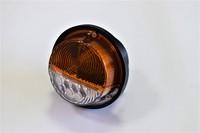 Фонарь передний жёлтый для УАЗ (диод+лампа 12В)