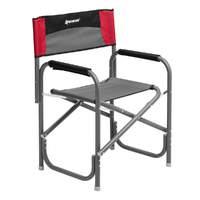 Кресло директорское NISUS без столика (серый/красный/черный)