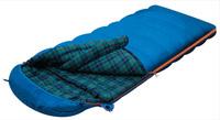 Мешок спальный ALEXIKA TUNDRA Plus (одеяло) синий, левый