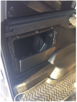 Багажные карманы УАЗ Патриот с широкими накладками (2шт)
