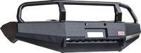 Бампер РИФ передний Mitsubishi L200 2005-2015/Pajero Sport 2009-2015 с защит. дугой и защитой бачка