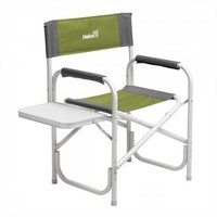 Кресло директорское HELIOS с откидным столиком (серый/зеленый)