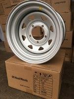 Диск УАЗ стальной серебристый 5x139,7 8xR15 d110 ET-25 (треуг. мелкий)