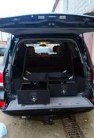 Органайзер для Toyota Land Cruiser 200 (2 выдв.ящика+клав.замки+спальник)