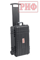 Кейс защитный ударопрочный РИФ 559х351х229 мм на колесах с телескопической ручкой
