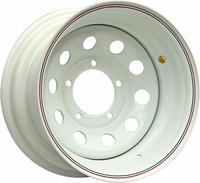 Диск усиленный УАЗ стальной белый 5x139,7 8xR15 d110 ET-40 (только на барабанные тормоза)