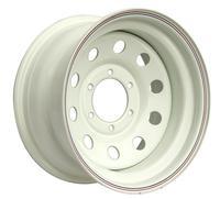 Диск усиленный Тойота Ниссан стальной белый 6x139,7 8xR16 d110 ET-25