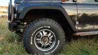 Расширители колёсных арок УАЗ Хантер под нерезанные арки колёс