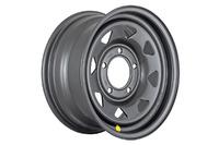 Диск усиленный ВАЗ НИВА стальной черный матовый 5x139,7 7xR15 d98,5 ET+25 (треуг.)