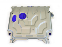 Защита радиатора Mitsubishi L200, V - все (2006-2015), Pajero Sport, V - все (2008-2016)