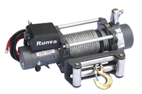 Лебёдка электрическая (индустр.) 24V Runva 12000 lbs 5443 кг (c пневмороспуском)