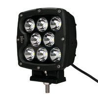 Фара светодиодная водительского света РИФ 130 мм 80W