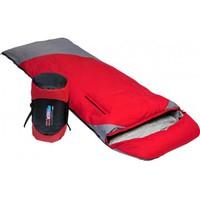 Мешок спальный Premier Fishing (190+30)*80см. (T: -25C), пуховый , красный