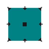 Тент BTrace 4x6 зеленый