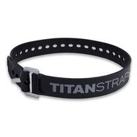 Ремень крепёжный TitanStraps Industrial черный L = 64 см (Dmax = 18 см, Dmin = 5,5 см)