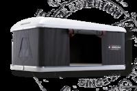 Палатка на крышу автомобиля AUTOHOME MAGGIOLINA AIRLANDER PLUS SMALL, серый тент, лестница 215 мм
