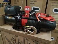 Автомобильная лебедка 4х4 Эксперт 11150СТ синтетический трос