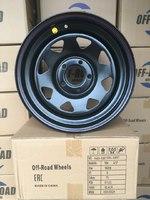 Диск усиленный Ленд Ровер Дискавери 2, VW Amarok стальной черный 5x120 8xR16 ET-0 (треуг. мелкий)
