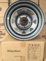 Диск УАЗ стальной серый (Gun-Metal) 5x139,7 8xR16 d110 ET0 (треуг. мелкий)