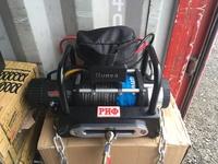 Лебёдка переносная высокоскоростная РИФ 9500СSR c площадкой на цепях и проводами (в сборе)