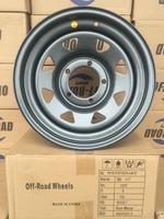Диск усиленный УАЗ стальной серый (Gun-Metal) 5x139,7 7xR16 d110 ET0 (треуг. мелкий)