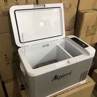 Холодильник автомобильный ALPICOOL MK25 25 л 12/24/220 В с отделением для льда