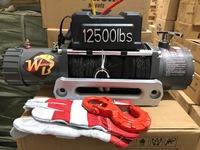 Лебедка электрическая PRO&TOP Wild Bear 12000LBS влагозащищенная cинтетический трос
