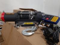 Лебедка redBTR 4500 серия QUATTRO SPORT 4,5S 12V, 2040 кг, 176:1, трос синтетика