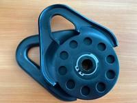 Блок усиления (полиспаст) TLW облегченный для синтетического троса 4.3 т (черный)