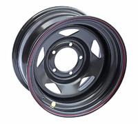 Диск усиленный УАЗ стальной черный 5x139,7 8xR15 d110 ET-19 (треуг.)